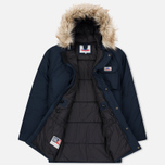 Мужская куртка парка Penfield Lexington Hooded Mountain Navy фото- 2