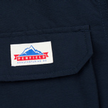 Мужская куртка парка Penfield Lexington Hooded Mountain Navy фото- 3
