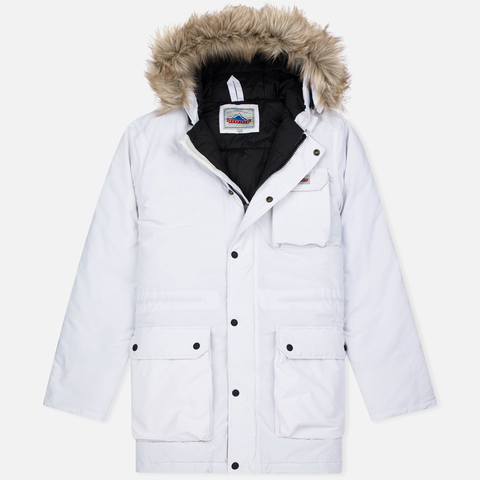 Penfield Lexington Hooded Mountain Men's Parka White
