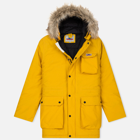 Penfield Lexington Hooded Mountain Men's Parka Yellow