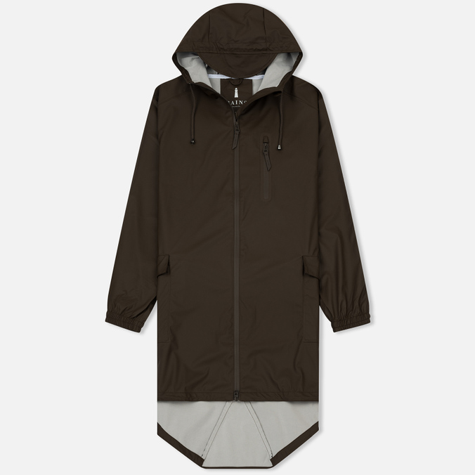 Мужская куртка парка Rains Parka Brown