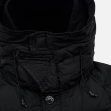 Мужская куртка парка Stone Island Crinkle Reps Nylon Down Black фото- 1