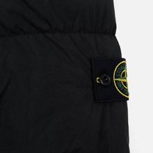 Мужская куртка парка Stone Island Crinkle Reps Nylon Down Black фото- 4
