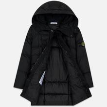 Мужская куртка парка Stone Island Crinkle Reps Nylon Down Black фото- 2