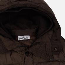 Мужская куртка парка Stone Island Crinkle Reps Nylon Down Dark Brown фото- 1