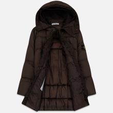 Мужская куртка парка Stone Island Crinkle Reps Nylon Down Dark Brown фото- 2
