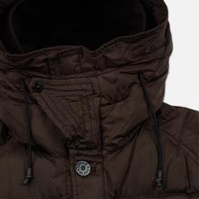Мужская куртка парка Stone Island Crinkle Reps Nylon Down Dark Brown фото- 3