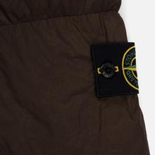 Мужская куртка парка Stone Island Crinkle Reps Nylon Down Dark Brown фото- 4