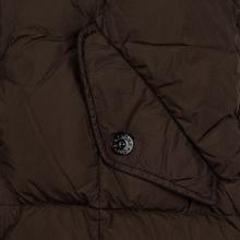 Мужская куртка парка Stone Island Crinkle Reps Nylon Down Dark Brown фото- 5