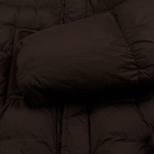 Мужская куртка парка Stone Island Crinkle Reps Nylon Down Dark Brown фото- 6