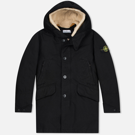 Stone Island David TC Men's Parka Black
