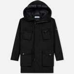 Мужская куртка парка Stone Island David-TC Down Black фото- 0