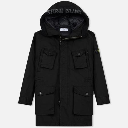 Мужская куртка парка Stone Island David-TC Down Black