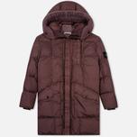 Мужская куртка парка Stone Island Garment Dyed Crinkle Reps Nylon Down Pink Quartz фото- 0