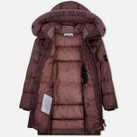 Мужская куртка парка Stone Island Garment Dyed Crinkle Reps Nylon Down Pink Quartz фото- 1