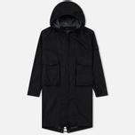 Мужская куртка парка Stone Island Ghost Piece Cotton/Nylon Black фото- 0