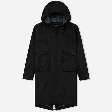 Мужская куртка парка Stone Island Ghost Piece Cotton/Nylon Black