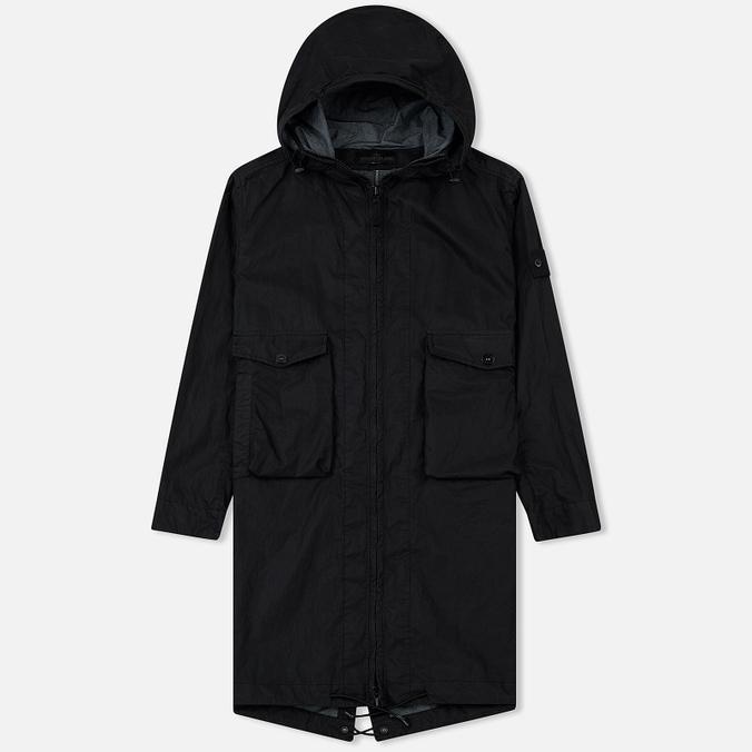 Мужская куртка парка Stone Island Ghost Piece Cotton/Nylon Black