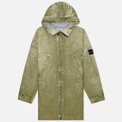 Мужская куртка парка Stone Island Membrana 3L Dust Colour Finish Beige