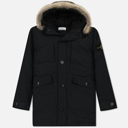 Мужская куртка парка Stone Island Micro Reps Down Black