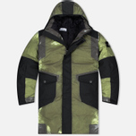 Stone Island Resin-T Shell Down Ice Men's Padded Jacket Green/Black photo- 0