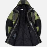 Stone Island Resin-T Shell Down Ice Men's Padded Jacket Green/Black photo- 2
