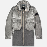 Мужская куртка парка Stone Island Shadow Project Double Front Raso-R/Nylon Metal Grey фото- 0