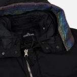 Мужская куртка парка Stone Island Shadow Project Down Fishtail Drop Pocket Black фото- 1