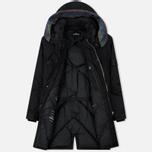 Мужская куртка парка Stone Island Shadow Project Down Fishtail Drop Pocket Black фото- 2