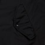 Мужская куртка парка Stone Island Shadow Project Down Fishtail Drop Pocket Black фото- 4