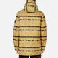 Мужская куртка парка Stone Island Shadow Project DPM Chine Jacquard Mustard фото - 4