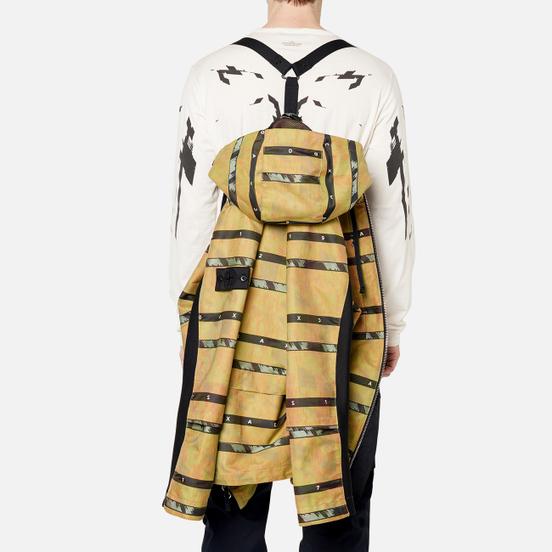 Мужская куртка парка Stone Island Shadow Project DPM Chine Jacquard Mustard