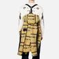 Мужская куртка парка Stone Island Shadow Project DPM Chine Jacquard Mustard фото - 5