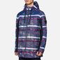 Мужская куртка парка Stone Island Shadow Project DPM Chine Jacquard Royal фото - 4