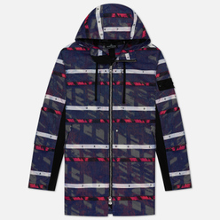 Мужская куртка парка Stone Island Shadow Project DPM Chine Jacquard Royal