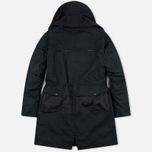 Мужская куртка парка Stone Island Shadow Project Fishtail Diagonal Nylon Black фото- 9