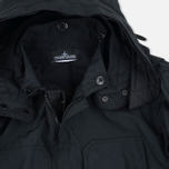 Мужская куртка парка Stone Island Shadow Project Fishtail Diagonal Nylon Black фото- 2