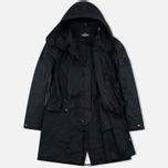 Мужская куртка парка Stone Island Shadow Project Fishtail Diagonal Nylon Black фото- 1