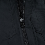 Мужская куртка парка Stone Island Shadow Project Fishtail Diagonal Nylon Black фото- 3