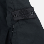 Мужская куртка парка Stone Island Shadow Project Fishtail Diagonal Nylon Black фото- 4