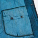 Мужская куртка ветровка Stone Island Shadow Project Jacquard Viscosa Nylon Turquoise Blue фото- 9