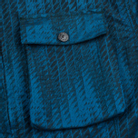 Мужская куртка ветровка Stone Island Shadow Project Jacquard Viscosa Nylon Turquoise Blue фото- 7