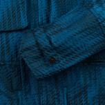Мужская куртка ветровка Stone Island Shadow Project Jacquard Viscosa Nylon Turquoise Blue фото- 8