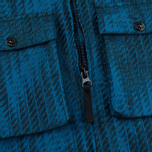 Мужская куртка ветровка Stone Island Shadow Project Jacquard Viscosa Nylon Turquoise Blue фото- 4