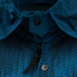 Мужская куртка ветровка Stone Island Shadow Project Jacquard Viscosa Nylon Turquoise Blue фото- 3