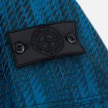 Мужская куртка ветровка Stone Island Shadow Project Jacquard Viscosa Nylon Turquoise Blue фото- 5