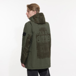 Мужская куртка парка Stone Island Shadow Project Laser Engraved David-TC Khaki фото- 9