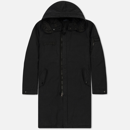 Мужская куртка парка Stone Island Shadow Project Padded Fishtail Steel Grey