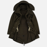 Мужская куртка парка Ten C Parka Dark Olive фото- 2