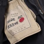 Мужская куртка парка Ten C Parka Navy фото- 6
